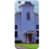 The little country church iPhone Case/Skin