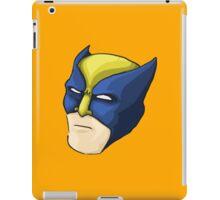 Wolverine Face (X Men) iPad Case/Skin