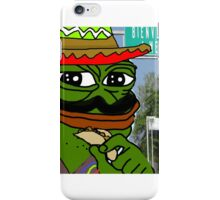Mexican Pepe iPhone Case/Skin