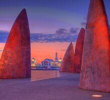 Concrete Colour Shark Fins by Froshi