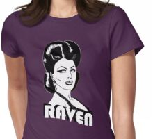 Superhero Raven Womens Fitted T-Shirt
