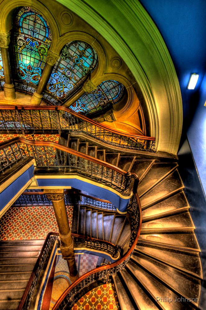 The Grand Staircase - QVB - The HDR Experience by Philip Johnson
