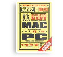 Mac vs. PC Metal Print