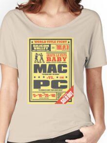 Mac vs. PC Women's Relaxed Fit T-Shirt