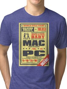 Mac vs. PC Tri-blend T-Shirt