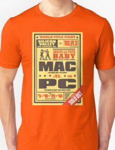 Mac vs. PC Unisex T-Shirt