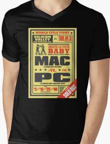 Mac vs. PC Mens V-Neck T-Shirt