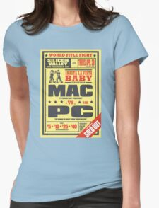 Mac vs. PC Womens Fitted T-Shirt