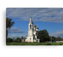 old church in Vologda Canvas Print