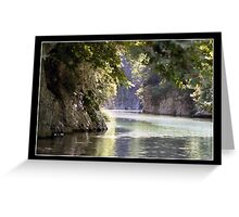 acheron river Greeting Card