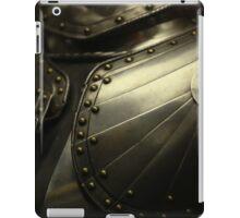 old knight's armor iPad Case/Skin
