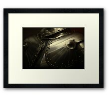 old knight's armor Framed Print