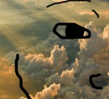 Cloud Wojack Sticker