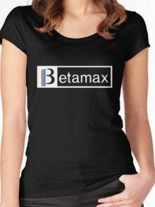 betamax Women's Fitted Scoop T-Shirt