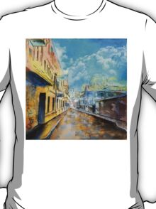Rainy day watercolor painting T-Shirt