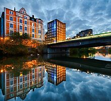 Evening in Hannover by Michael Abid