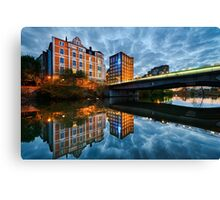 Evening in Hannover Canvas Print