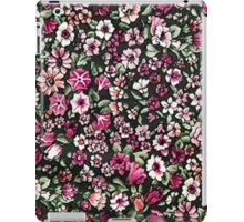 Cute Red Pink And White Pretty Floral iPad Case/Skin