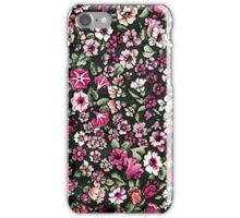 Cute Red Pink And White Pretty Floral iPhone Case/Skin