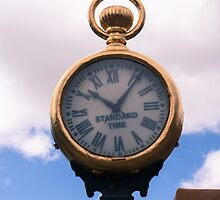 Spitz Street Clock by Thad Zajdowicz