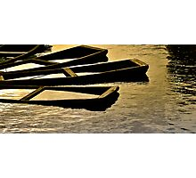 sunk boats Photographic Print