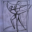 Dancing Lines by nancy salamouny