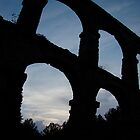 Aquaduct Tarragona, Spain by wilderpisces