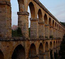 Aquaduct, Tarragona, Spain by wilderpisces