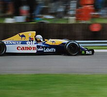 Riccardo Patrese, Silverstone 1992 British Grand Prix. by Phil Mitchell