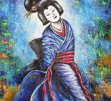 Geisha One by Pamela Plante
