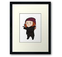 Tiny Freddie 02 Framed Print