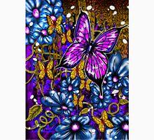 Incense, Blue Daisies & Butterflies Unisex T-Shirt
