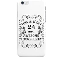 THIS IS WHAT 24 iPhone Case/Skin