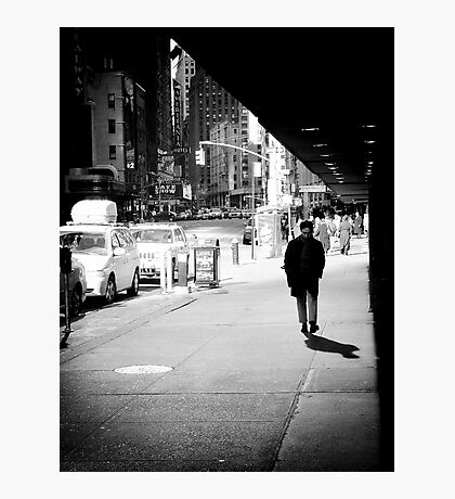 Oh the bright lights of Broadway Photographic Print