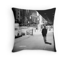 Oh the bright lights of Broadway Throw Pillow