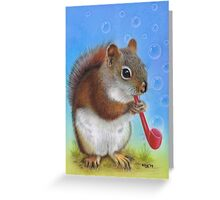 Bubbles and Blessings Greeting Card