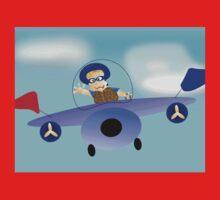 Larravide Plane Ride Kids Clothes