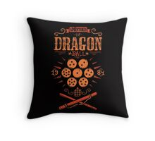 Adventure of goku Throw Pillow