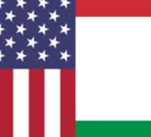 USA & Italy Sticker