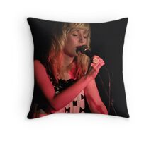 Colour of the emotive notes Throw Pillow