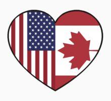 USA & Canada Kids Tee