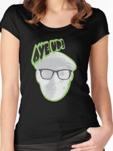 Aye up! Women's Fitted Scoop T-Shirt