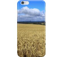Table Cape Wheat Field iPhone Case/Skin