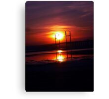 England To Wales Canvas Print