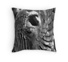 Bronze Eagle Throw Pillow