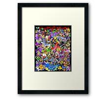 151 POKEMON Framed Print
