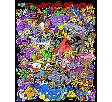 151 POKEMON Photographic Print