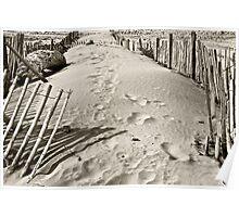 Dilapidated Beach Poster