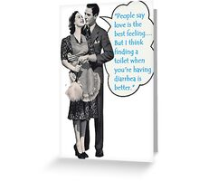Best Feeling Greeting Card