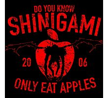 Do you know, Shinigami only eat apples Photographic Print
